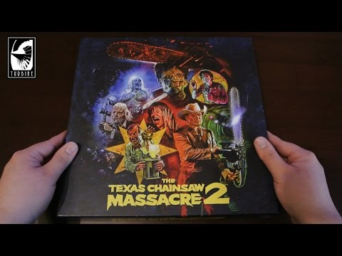 The Texas Chainsaw Massacre 2 Limited Collector's Box Turbine + 2-Disc Blu-Ray Mediabook Tobe Hooper