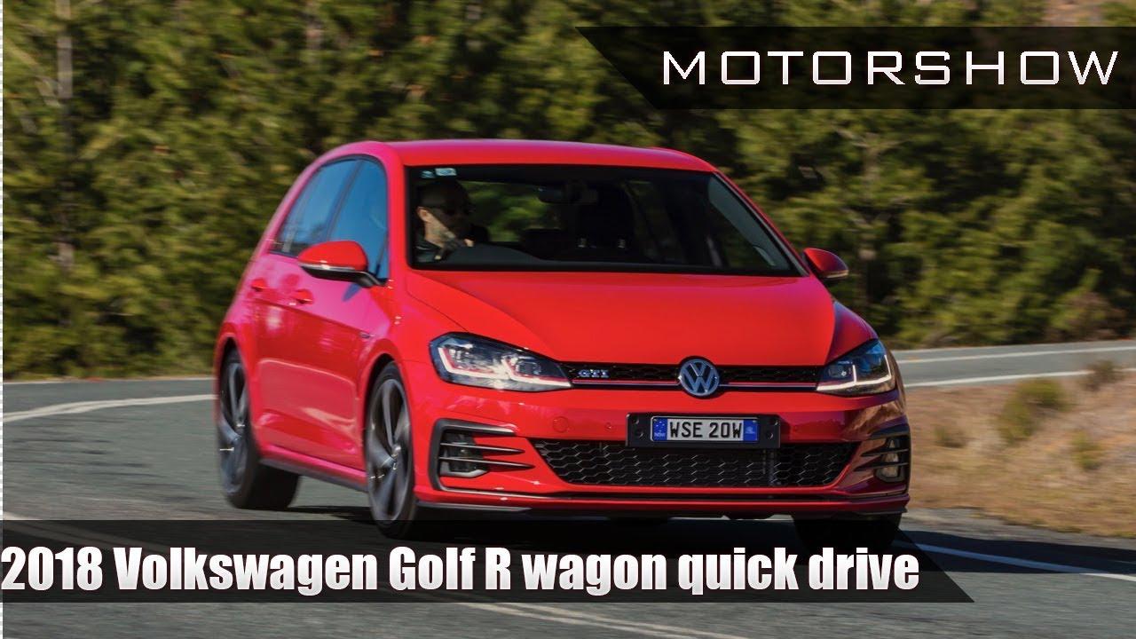 2018 volkswagen golf r wagon. interesting volkswagen 2018 volkswagen golf r wagon quick drive  motorshow on volkswagen golf r