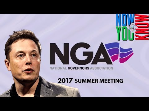 In Depth - Elon Speaks to US Governors