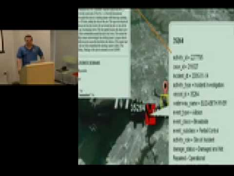 Google's Spatial Tools in a Marine Envt. - Decision Support