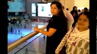 Repeat youtube video Vijayettan Asha chechi family visit to Dubai