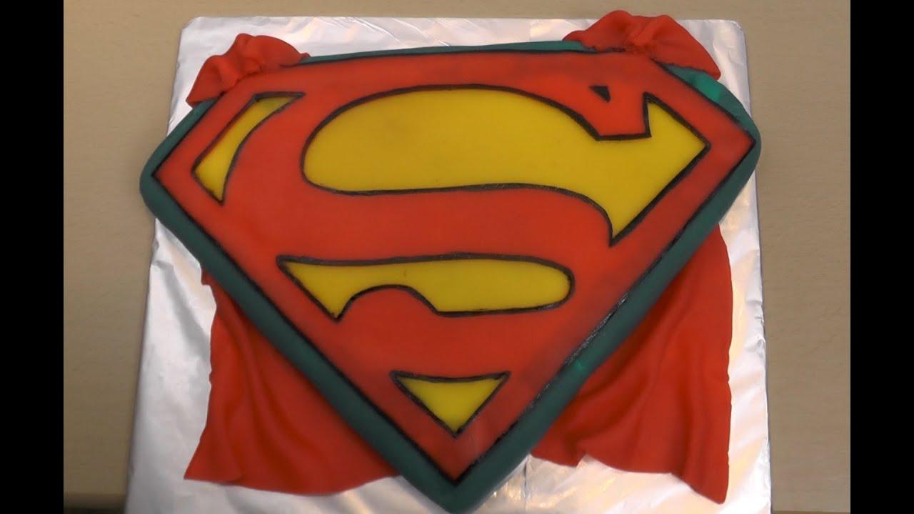 superman torte freaky baking ninnin youtube. Black Bedroom Furniture Sets. Home Design Ideas