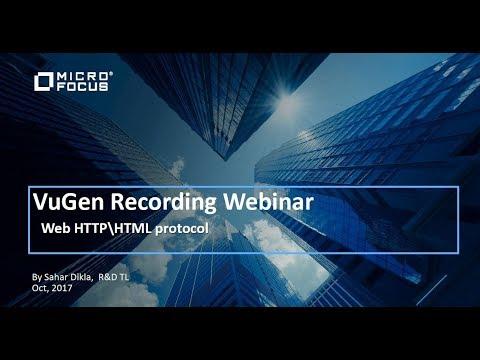 Web (HTTP/ HTML) Protocol Deep Dive Webinar - Recording
