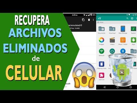 Recuperar fotos y archivos eliminados tu dispositivo android