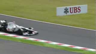 2012 FIA F1世界選手権シリーズ第15戦日本グランプリ FORMULA 1 WORLD CHAMPIONSHIP FP3
