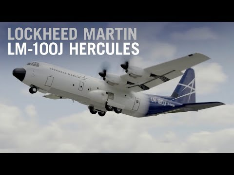 Lockheed Martin Debuts Civil LM-100J Hercules Transport at Paris Air Show 2017 – AINtv