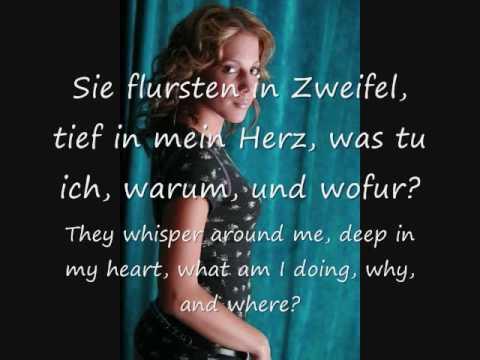 LaFee - Angst/Scared (English translation)