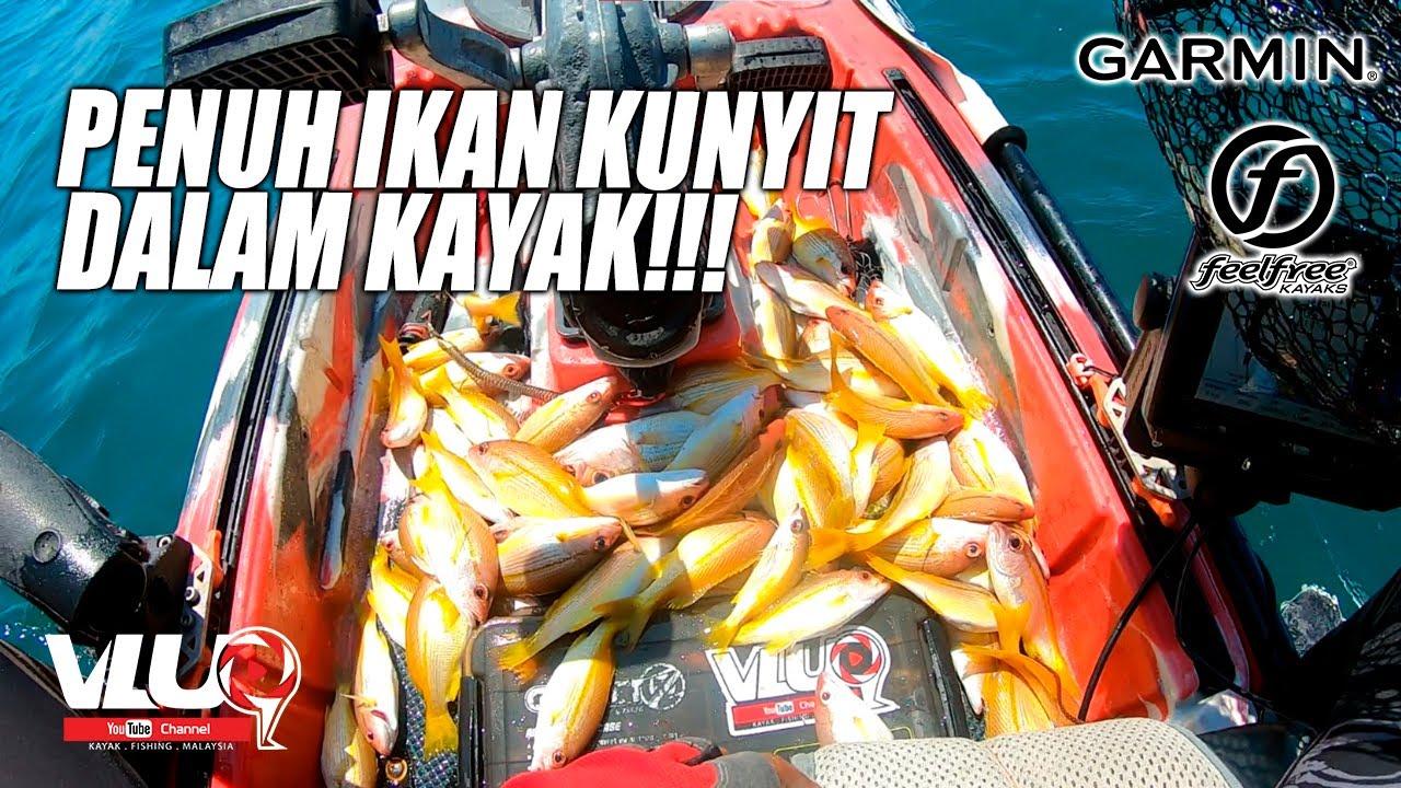 PENUH IKAN DALAM KAYAK!! - #VLUQ222 - Kayak Fishing Malaysia
