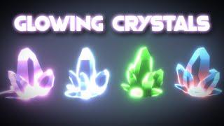 Unity Shader Graph - Glowing Crystals Tutorial