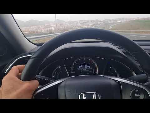 Honda cıvıc 1.6 otomatik lpg top.speed