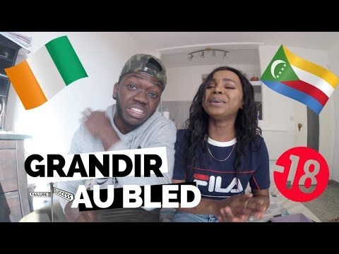 AFRICAN TAG | AVOIR GRANDIT AU BLED 🇨🇮 x🇰🇲 - EDUCATION BLEDIENNE VS EDUCATION FRANCAISE || FRANÇAIS