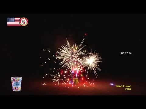 NEON FUSION by Winda Fireworks NEW FOR 2018! P3092