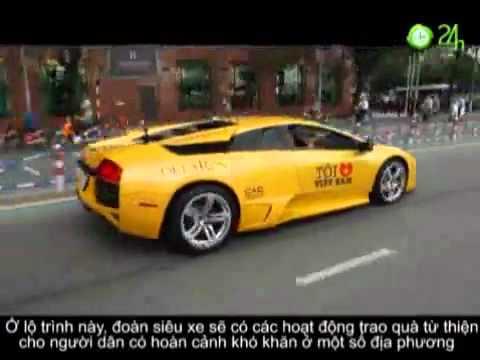 Hanh trinh sieu xe cua Cuong dollar tai Vietnam 2011 (p2).FLV