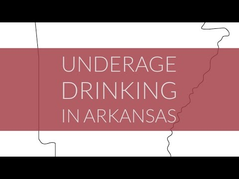 Underage Drinking in Arkansas