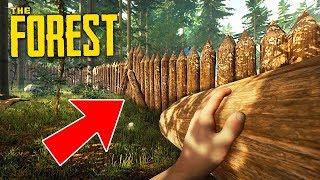 THE FOREST - ЛУЧШАЯ БАЗА В ЛЕСУ ИЗ ВСЕХ!!