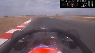 Tom Randle Onboard S5000 Lap Record Tailem Bend