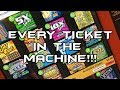 EVERY SCRATCHER TICKET IN THE MACHINE Versus ARPLATINUM MBS Lottery Project mp3