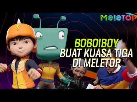 HEBAT! Nabil & Neelofa Interview Animasi BoBoiBoy & Adu Du Di MeleTOP! | Malaysia & Indonesia