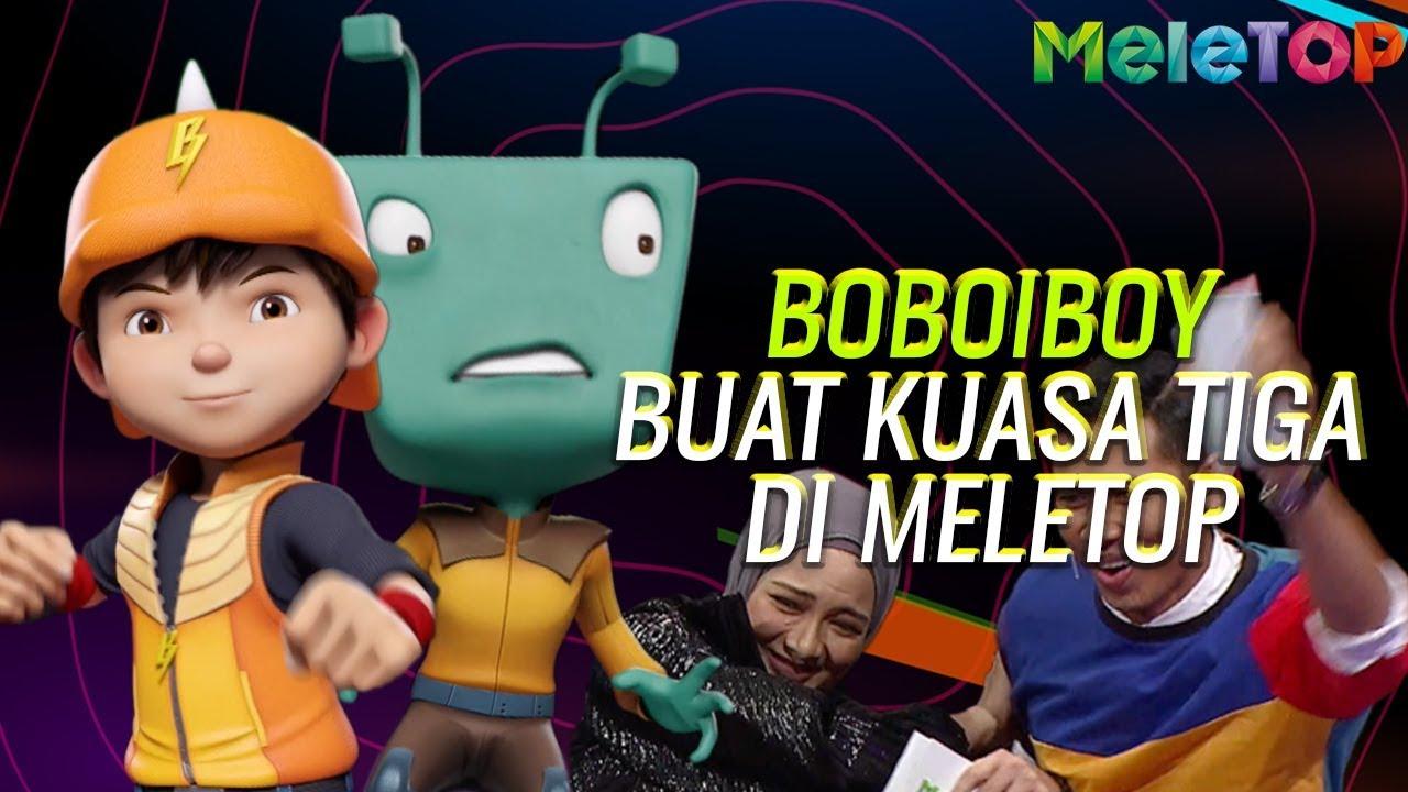 HEBAT! Nabil & Neelofa Interview Animasi BoBoiBoy & Adu Du di MeleTOP! | Malaysia & Indo