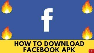 Gambar cover How To Download Facebook Apk