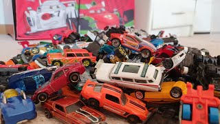 Hot Wheels Cars review box full of  new hot wheels