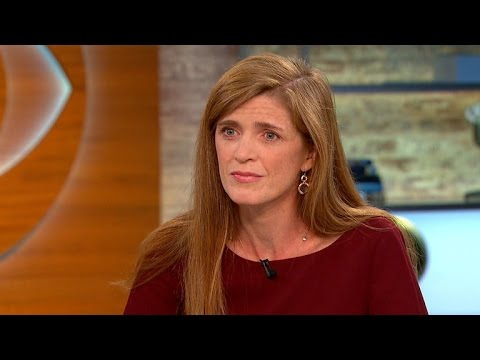 UN ambassador Samantha Power on expanding airstrikes into Syria