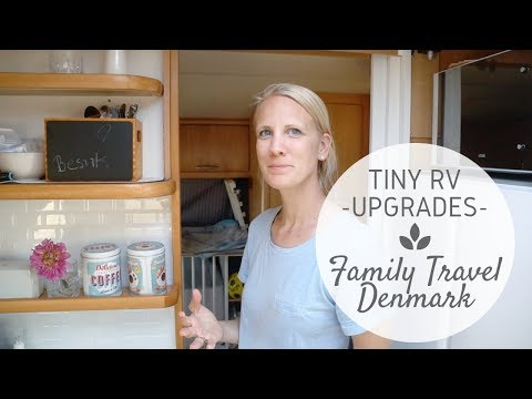 Tiny RV Travel Trailer Upgrades | Family travel – Djursland Train Museum