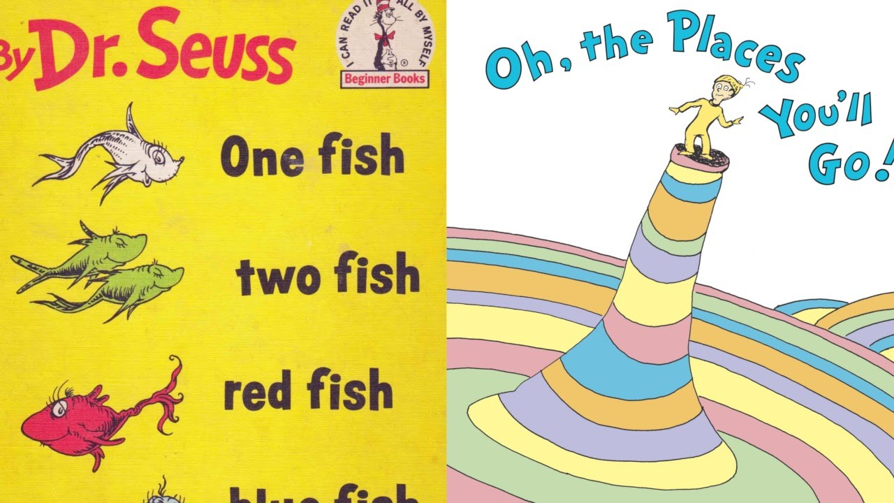 Top 10 Books By Dr Seuss Youtube