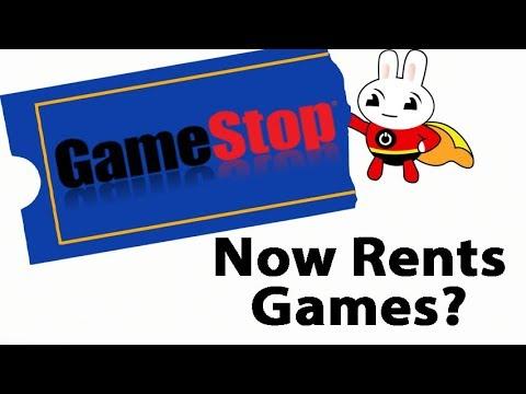 GameStop Now Renting Games
