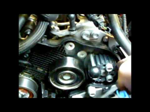 0c8c1e3243d07 Škoda Octavia 2 1.6TDI Demontáž a montáž rozvodového řemene - YouTube
