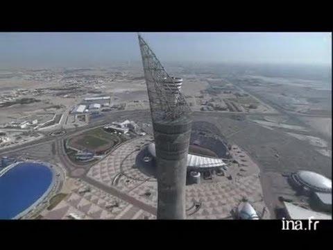 Qatar : la tour du stade Al Khalifa