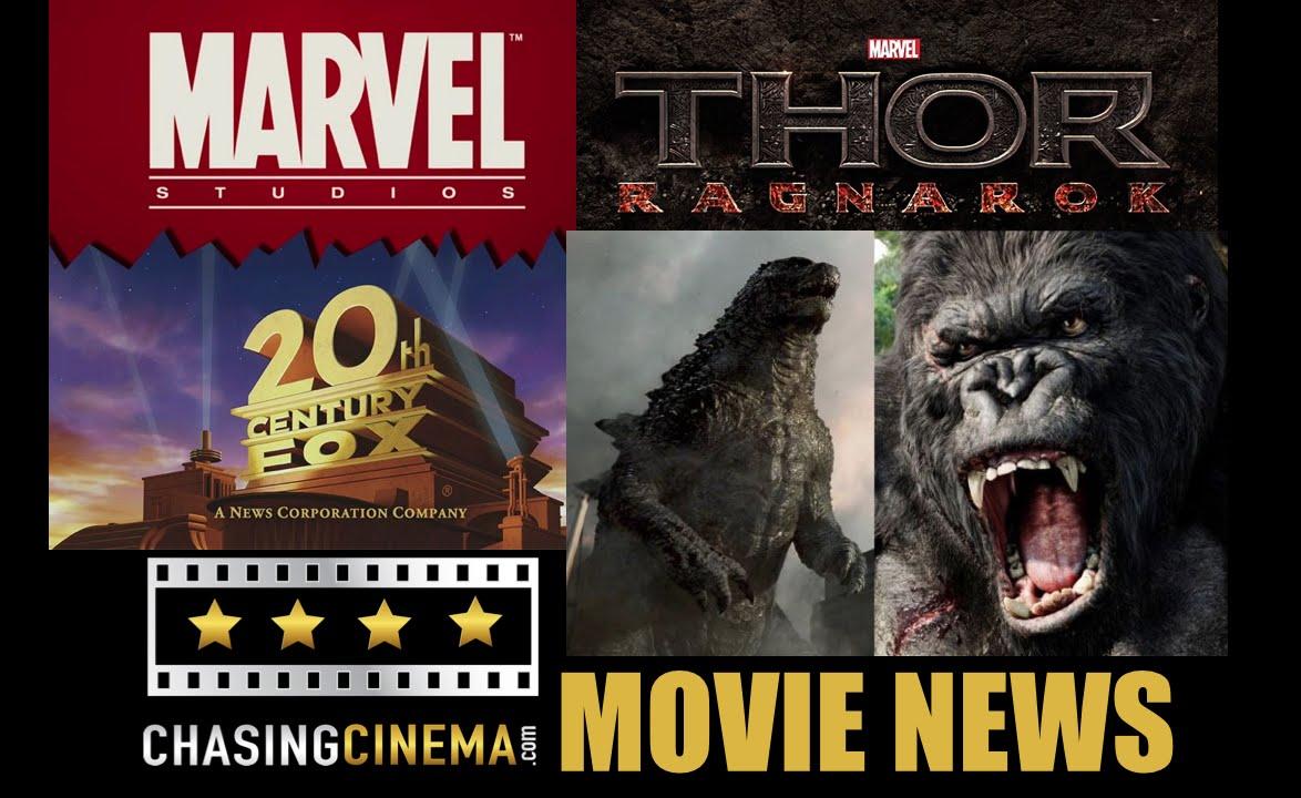movie news godzilla vs kong marvel amp fox team for 2 new