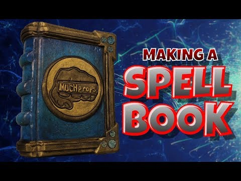 Making a Spell Book