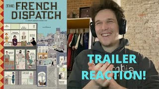 The French Dispatch - Trailer Reaction! (Wes Anderson 2020)
