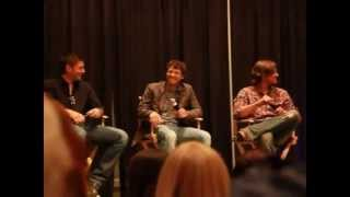 Supernatural Misha and Jared Chicago Con Full length!