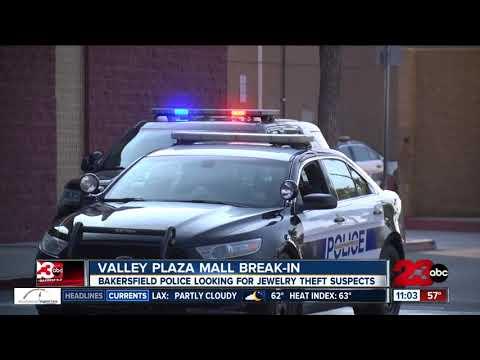 Valley Plaza Mall Break-in
