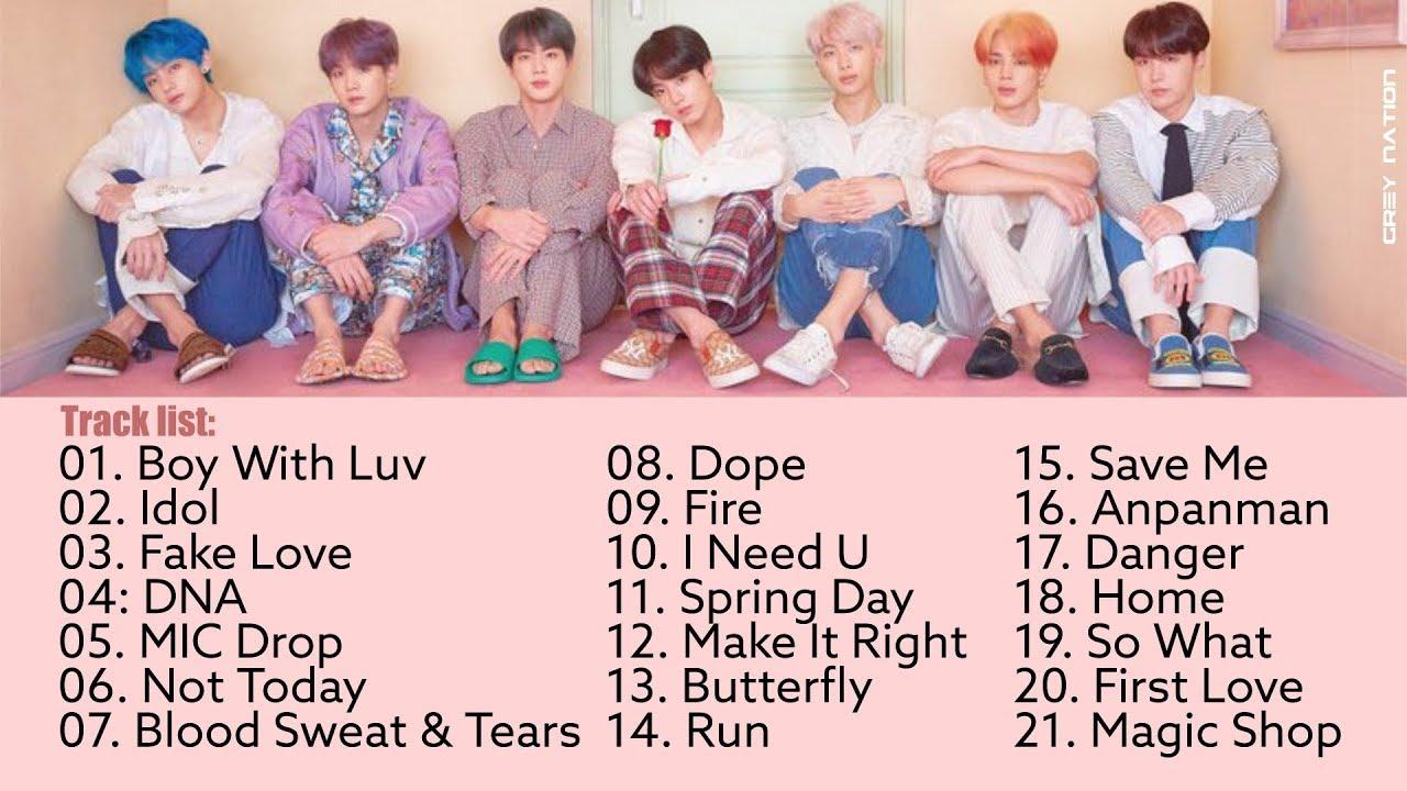 BTS Playlist - Best BTS Songs 2013-2020 ~ 방탄소년단