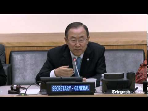 Ban Ki-moon expects 'overwhelming' signs of chemical arms use in Syria