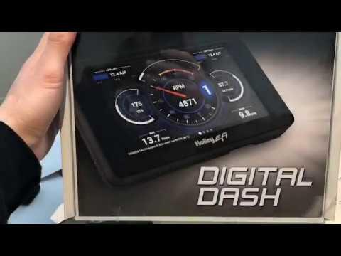 Holley Digital Dash Unboxing!
