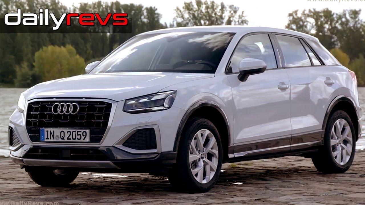 2021 Audi Q2 | Glacier White | Driving & Details