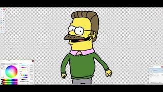 How to draw Ned Flanders