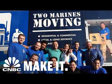 Ex-Marine Builds A Multimillion-Dollar Moving Company That Hires Veterans | CNBC Make It.