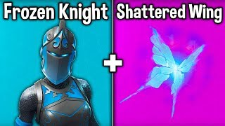 "BEST ""SHATTERED WINGS + DREAM"" SKIN + BACKBLING COMBOS! (Fortnite Battle Royale))"