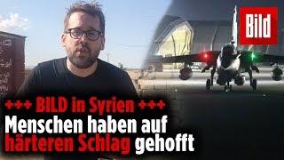 Raketen auf Assad: Menschen in Syrien haben auf härteren Schlag gehofft