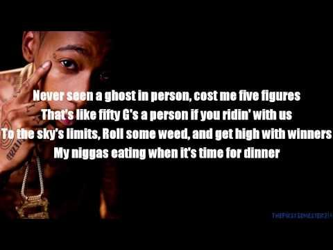 Amber Ice - Wiz Khalifa Lyrics Onscreen