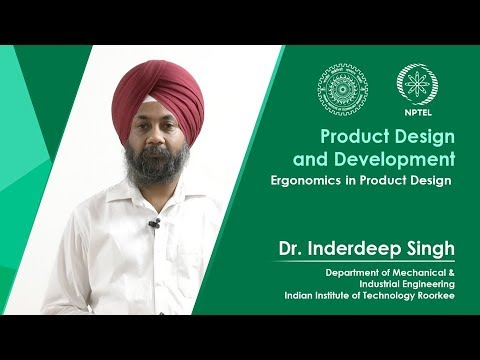 Lecture 15 Ergonomics in product design
