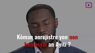 Anrejistreman Non Biznis An Ayiti