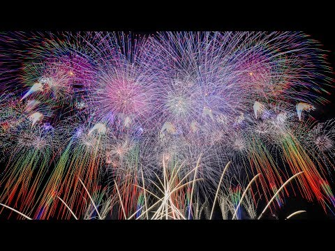 [4K UHD]世界一美しい日本の花火大会 The most Beautiful Japanese fireworks in the world [Feuerwerk]