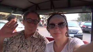 #777 Камбоджа Сием Рип Заселяемся в отель Ужин на Паб Стрит