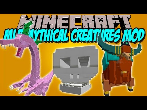 MLP MYTHICAL CREATURES MOD - Nuevos Bosses!! - Minecraft Mod 1.7.10 Review ESPAÑOL